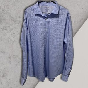 "Stafford ""all temp"" button down shirt"